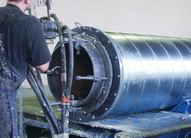 Изоляция стальных труб ППУ
