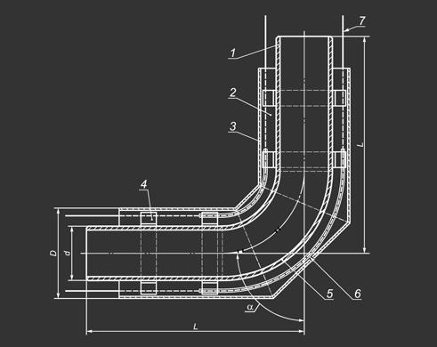 Схема отвода в ппу изоляции