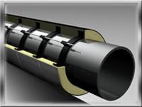 Изоляция ППУ труб в ОЦ оболочке