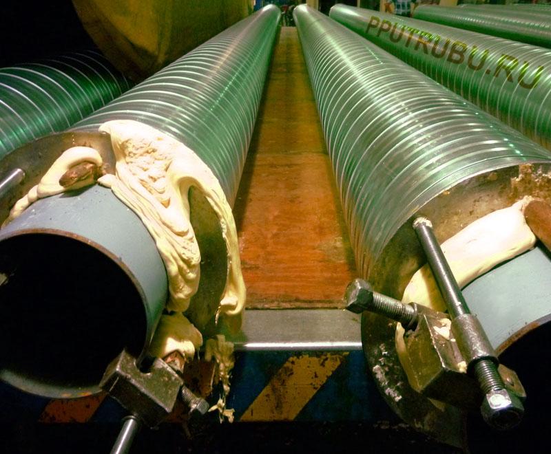 Теплоизолированные трубы